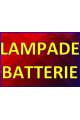 LAMPADE / BATTERIE