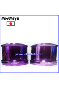 BOBINE ALLUMINIO AKAMI RELY ULTRA LIGHT - FUCSIA
