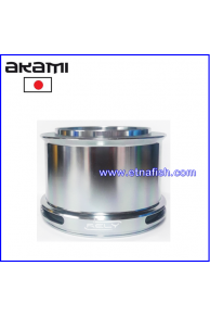 BOBINE ALLUMINIO AKAMI RELY ULTRA LIGHT - GRIGIA