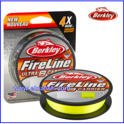 BERKLEY FIRELINE ULTRA 8 FLUO GREEN mt.300