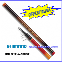 CANNA SHIMANO BOLOGNESE FIRE BLOOD TE 4-600GT