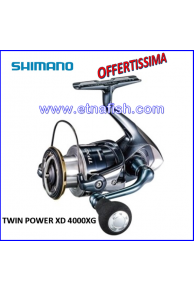 MULINELLO SHIMANO TWIN POWER XD 4000XG